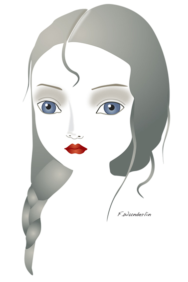 Example of a art that can be created in InkScape.